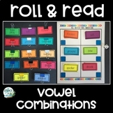 Vowel Combinations - Roll & Read Game