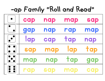 Roll & Read: Word Families
