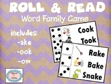 Roll & Read Word Family Game