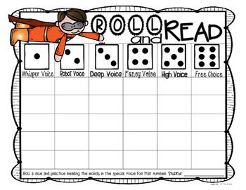 Roll & Read (Word Work/Spelling/Tier Game)