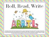 Roll, Read, Write - April