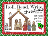 Print & Go: Roll, Read, Write - Christmas