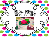 Roll, Read, Write! (Dolch Words) First Grade
