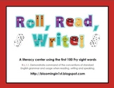 Roll Read Write Fry Sight Words Literacy Center
