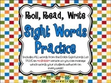 Sight Words Practice *With Editable Pages*