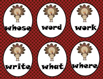 Roll, Read, Write--Thanksgiving Grades 1-2
