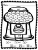 Sight Words: Roll, Read, & Color: Bubble Gum; F&P High Frequency Words 1-25
