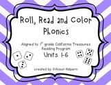 Roll, Read and Color (California Treasures)