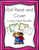 Roll, Read, and Cover Long Vowel Patterns Bundle