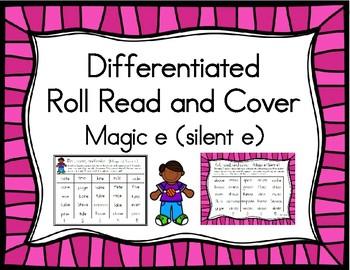 Roll, Read, and Cover Magic e (Silent e)