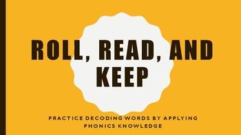 Roll, Read and Keep- er, ir, ur words