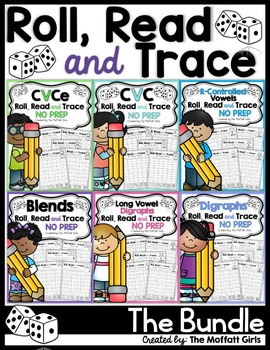 Roll, Read and Trace (The BUNDLE)