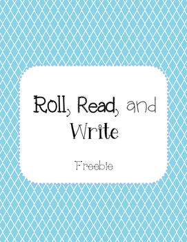 Roll, Read, and Write