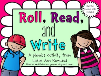 Roll Read and Write: A Literacy Center