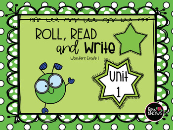 Roll, Read, and Write Bundle McGraw Hill Wonders Grade 1