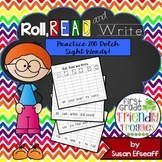 Literacy Center Games - Roll, Read and Write - Dolch Sight Words
