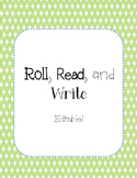 Roll, Read, and Write EDITABLE