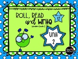 Roll, Read, and Write McGraw Hill Wonders Grade 2 Unit 2