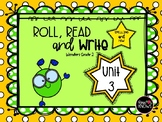 Roll, Read, and Write McGraw Hill Wonders Grade 2 Unit 3
