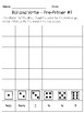 Roll, Read and Write Pre-Primer, Primer, First Grade Sight Words Activities