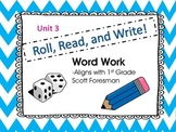 Roll, Read, and Write Scott Foresman Unit 3 Week 3 Adding -es