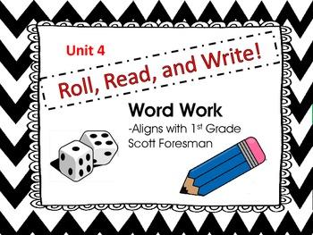 Roll, Read, and Write Scott Foresman Unit 4 Week 2 Long e spelled  /ea/