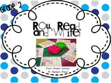 Roll, Read, and Write Second Grade (Dolch Words)