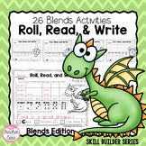 Roll, Read, and Write with Dice { Blends Edition }