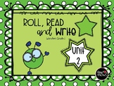 Roll, Read, and Write McGraw Hill Wonders Grade 1 Unit 2