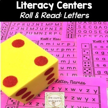 Roll and Read Bundle: Sight Words, Letters, CVC Words & More