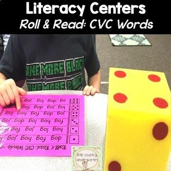 Roll & Reads: CVC Words