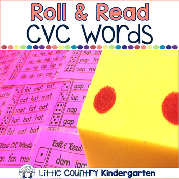 CVC Words Center: Roll and Read