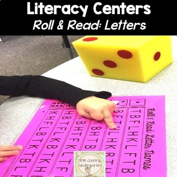 Letter Sounds & Letter Recognition: Roll and Read