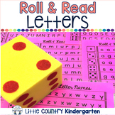 Roll & Reads: Letter Names & Letter Sound Recognition
