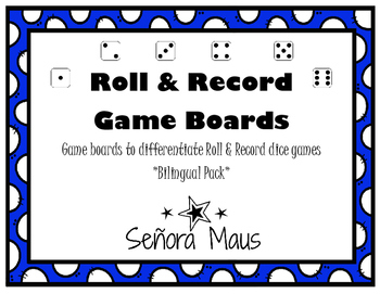 Roll & Record Game Boards