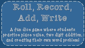 Roll, Record, Write, Add Freebie