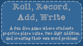 Roll, Record, Write, Add Freebie
