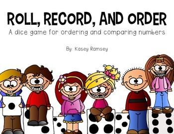Roll, Record, and Order 2-Digit Numbers