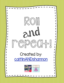 Roll & Repeat! Repeated addition practice