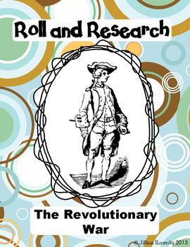 Roll & Research: The American Revolution - Common Core Aligned