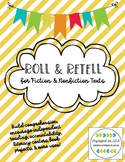 Roll & Retell for Fiction & Nonfiction Books: Independent