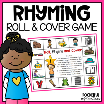 Roll, Rhyme & Cover Game