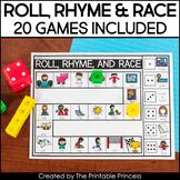 Rhyming Game Boards   20 Rhyming Games Included