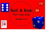 Roll & Risk Place Value Smart Notebook Game