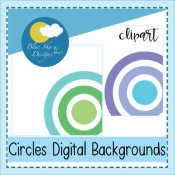 Round Background Paper Set