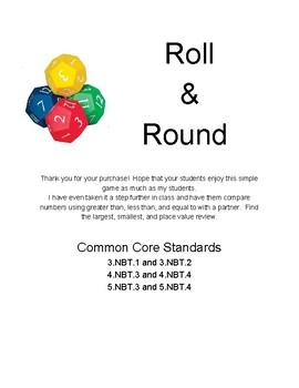 Roll & Round Math