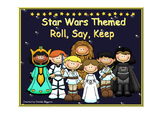 Roll Say Keep: Addition and Subtraction within 20 (Star Wa