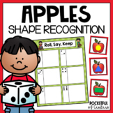 Apple Shapes Roll, Say, Keep Game