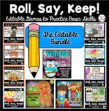 Roll, Say, Keep Bundle: Editable Games