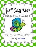 Roll Say Keep {Dolch Sight Word Phrases from List 2}